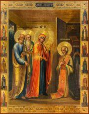 Икона Явление Пресвятой Богородицы Сергию Радонежскому