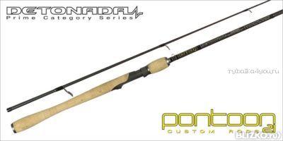 Спиннинговое удилище Pontoon21 Detonada 305 см / тест 7 - 24 гр /  8-17 Lb / Fast / Fuji K-SIC(Артикул: DTS102MMT)