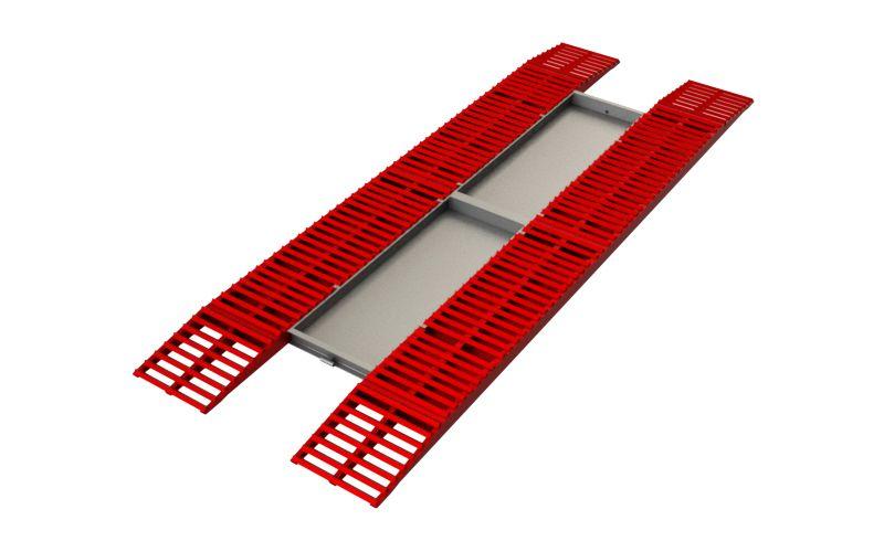 Эстакада разборная металлическая, 11м усиленная
