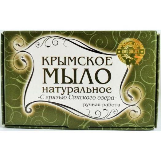 Крымское мыло с грязью сакского озера Лавари 50 гр