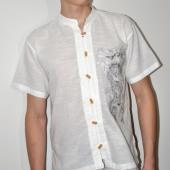 Тайская рубашка с коротким рукавом 1 шт