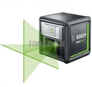 Bosch Quigo green Лазерный нивелир со штативом