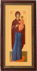 Мерная икона Одигитрия икона Божьей Матери (25x50см)