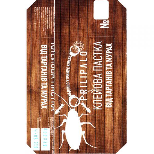 Клеевая ловушка PRILIPALO от тараканов, 25*16 см, Украина