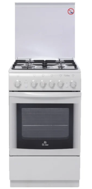 Газовая плита DE LUXE 5040.33Г (951500) Белая