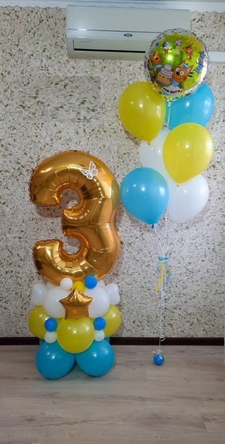 Гелиевые шары набор №91
