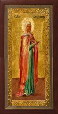 Мерная икона Александра Римская мученица (25x50см)
