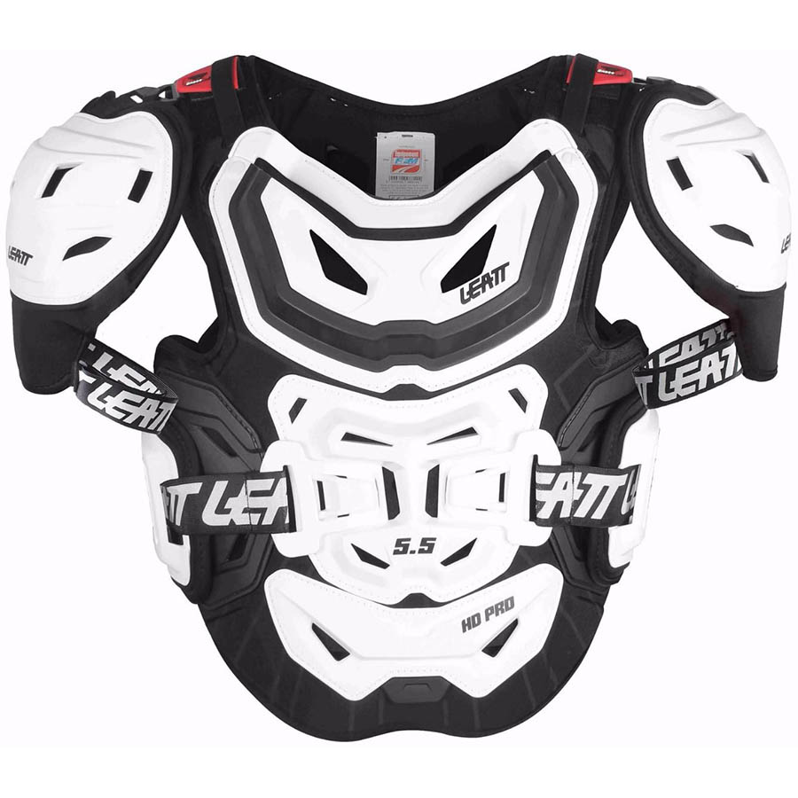 Leatt Chest Protector 5.5 Pro HD White защитный жилет
