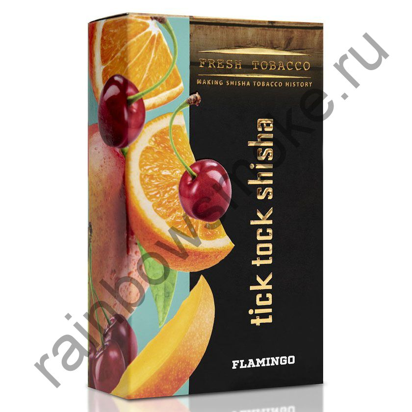 Tick Tock Hookah 100 гр - Flamingo (Mango, Orange, Cherry) (Манго, Апельсин и Вишня)