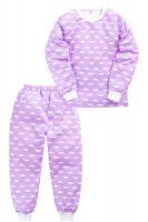 Пижама c начесом для девочки 2-5 лет Sladikmladik SM1099