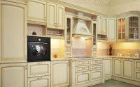Кухня Августа (Аугуста) со светлой столешницей