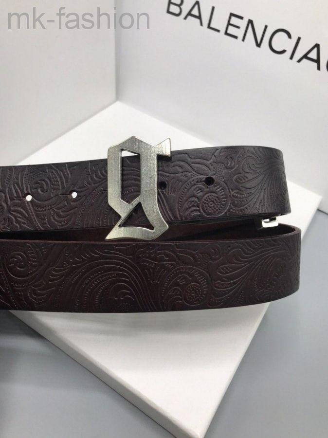 Ремень кожаный Galliano (Гальяно)