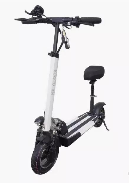 Электросамокат Kugoo M4 PRO 17AH Jilong Белый (с сиденьем)