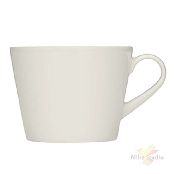 Чашка чайная «Пьюрити»; фарфор; 260мл; белый