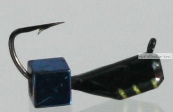 Столбик черн с кубиком  Mikado 3 мм / 1 гр