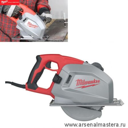 Циркулярная пила MCS 66 1,8 кВт диск 203 мм по металлу MILWAUKEE 4933440615