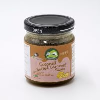 Соус соленая карамель на кокосовом молоке,  Natures way ,200 грамм
