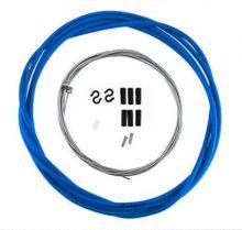 Комплект тросиков тормозных для велосипеда синий