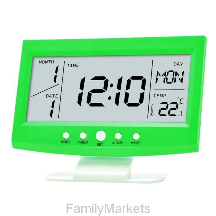 Многофункциональные настольные часы KD-1819