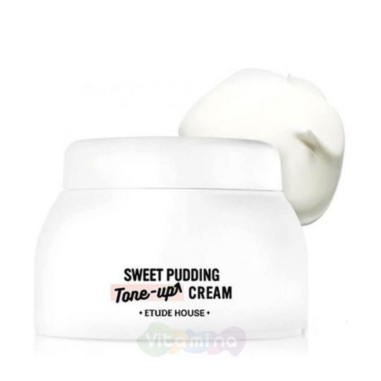 Etude House Осветляющий крем пудинг для сухой кожи Pudding Tone Up Cream Moisture, 50 мл