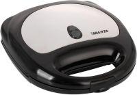 Бутербродница MARTA MT-1750 черный/сталь