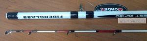 Удилище троллинговое Wonder White Troll 2,70 м / тест 20-120 гр