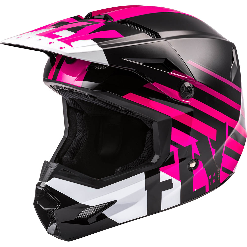Fly Racing 2021 Kinetic Thrive Pink/Black/White шлем внедорожный
