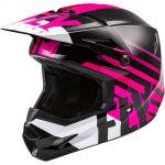 Fly Racing Kinetic Thrive Pink/Black/White шлем внедорожный