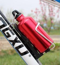 Бутылка для воды Велосипедная алюминиевая 500 мл красная
