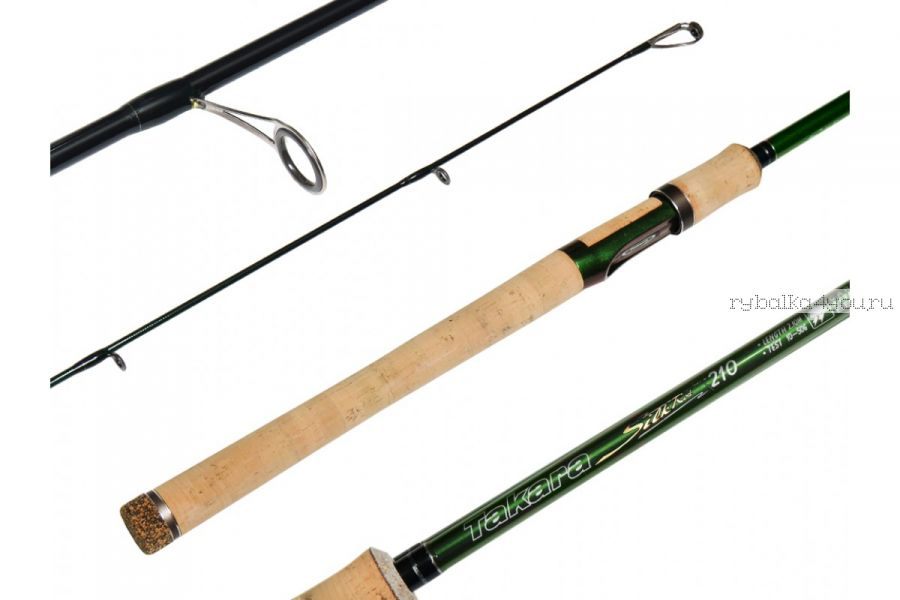 Спиннинг Takara Silk Rod 2,1 м / тест  10-50  гр / Im8