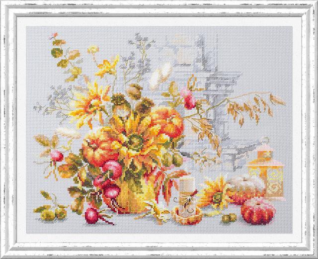 Набор для вышивания ЧУДЕСНАЯ ИГЛА  Осенняя импровизация (120-012)