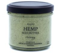Натуральная паста из семян конопли кремовая,120 грамм