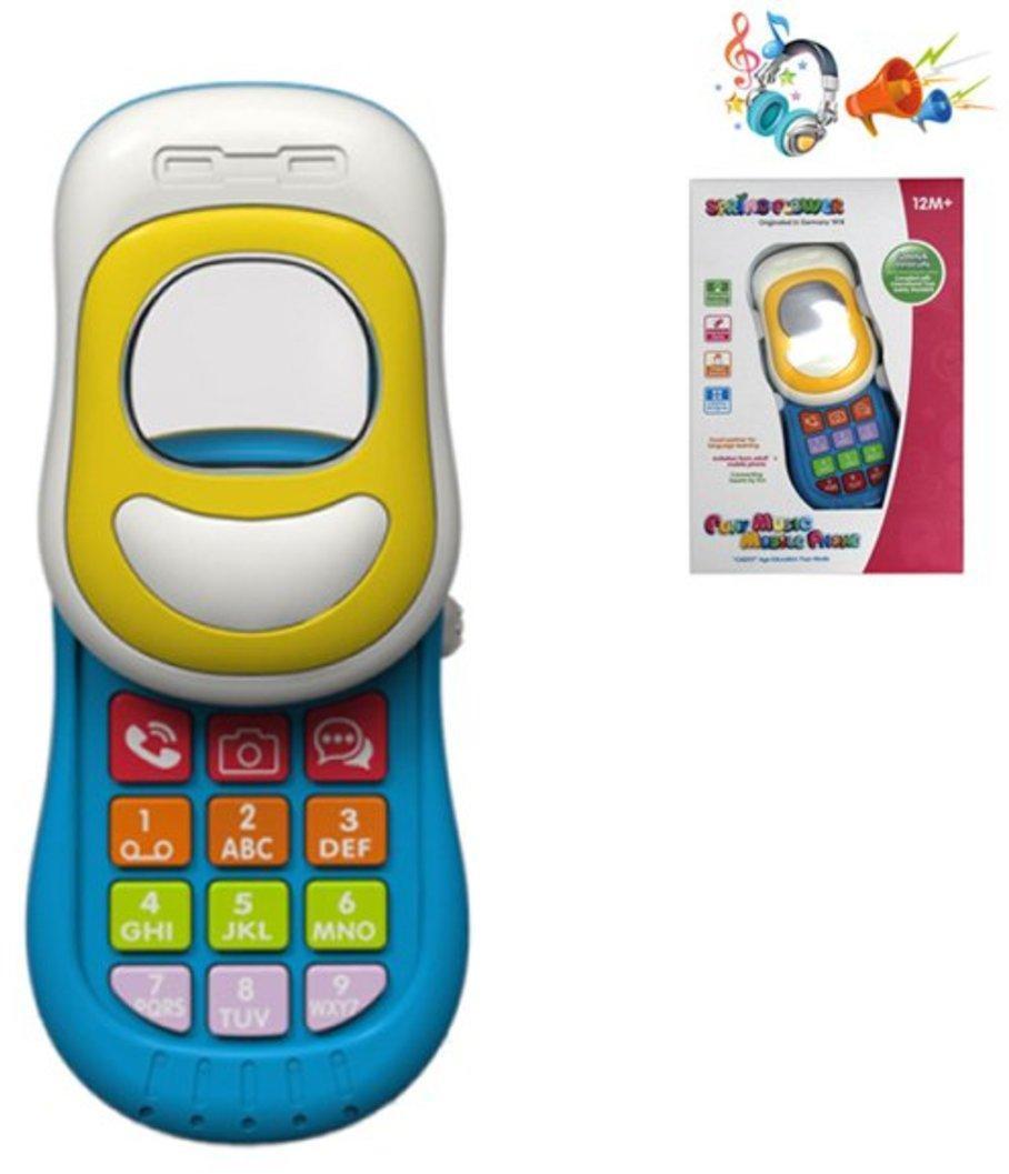 Мобильный телефончик, свет, звук, эл.пит. АА*2 не вх.в компл., кор