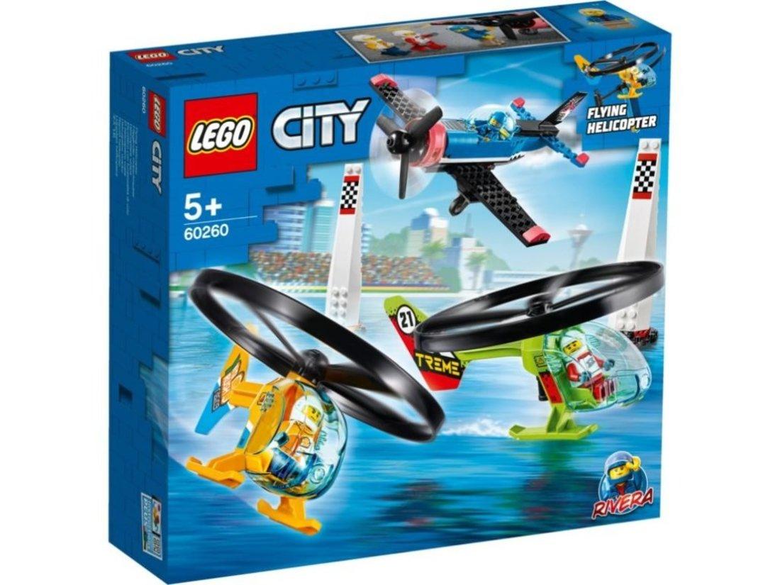 Констр-р LEGO City Airport Воздушная гонка