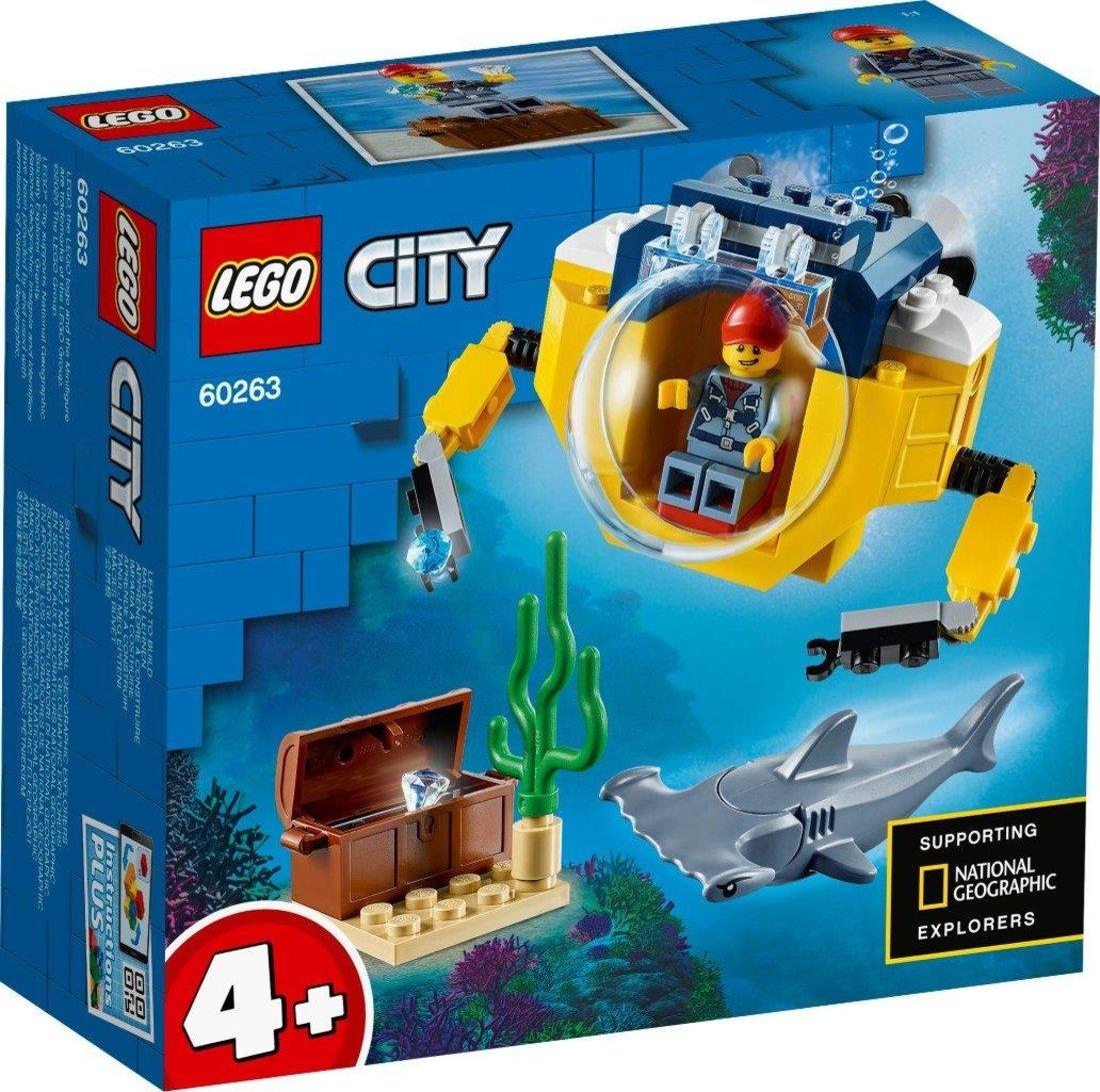 Констр-р LEGO City Oceans Океан: мини-подлодка