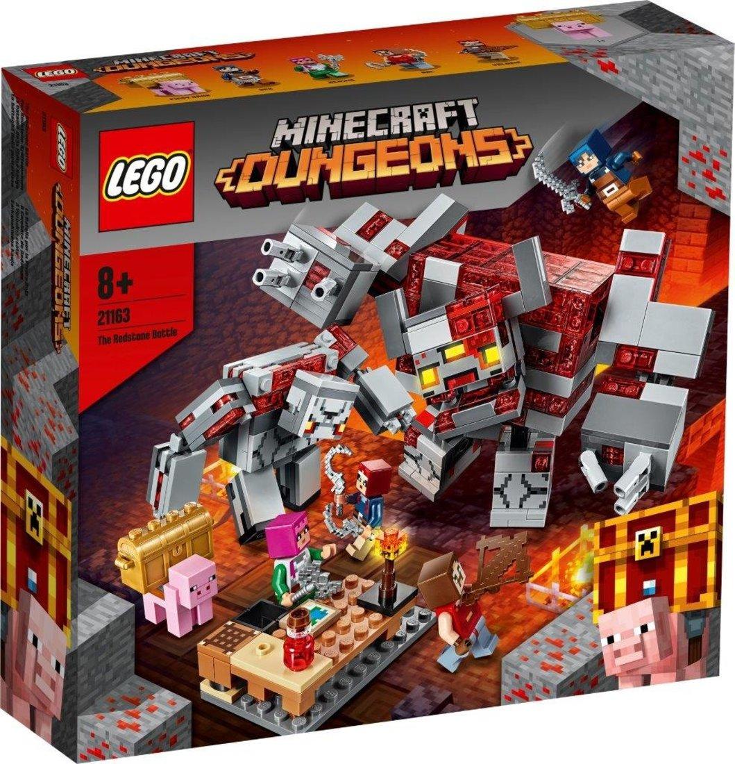 Констр-р LEGO Minecraft Битва за красную пыль