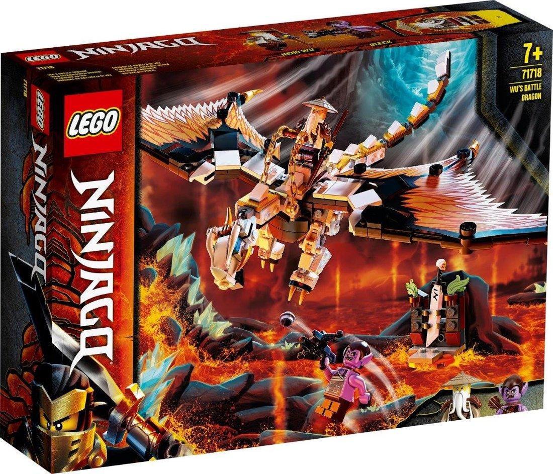 Констр-р LEGO Ninjago Боевой дракон Мастера Ву