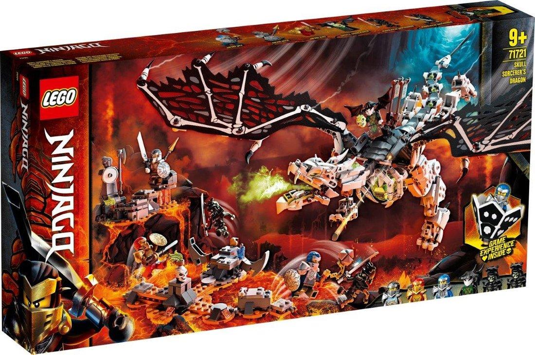Констр-р LEGO Ninjago Дракон чародея-скелета