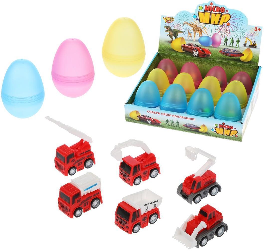 Пожарная машина инерц., в яйце, в ассортименте