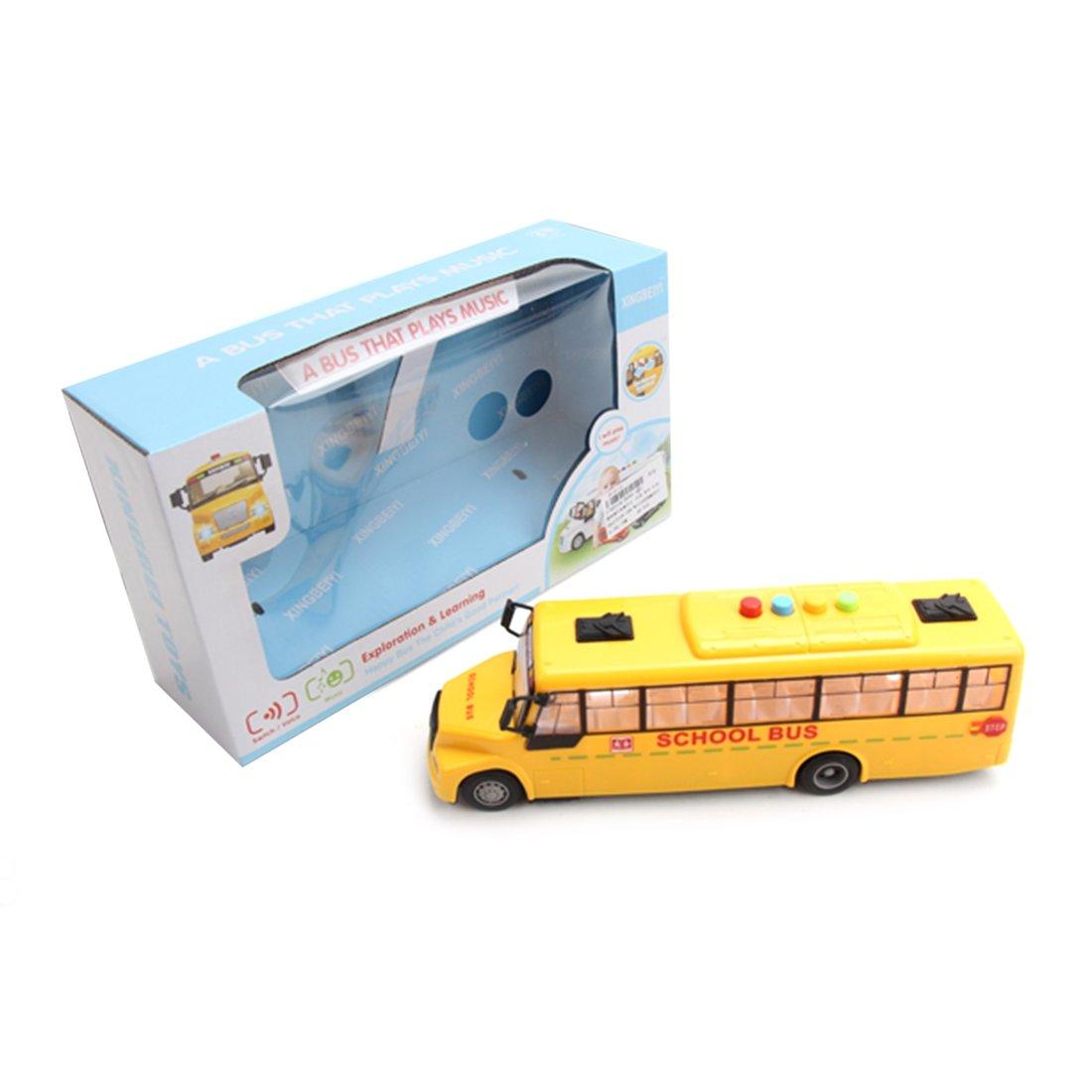 Автобус инерц. Школьный, свет, звук, эл.пит.AG13*3шт.не вх.в комплект, коробка