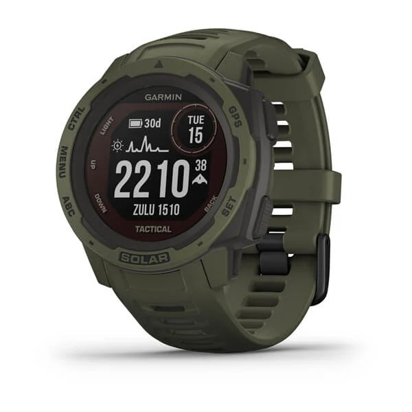 Часы Garmin Instinct Solar Tactical Moss