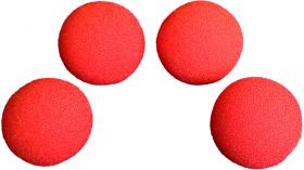 """Шарики Goshman Soft 2"""" = 5 см красные (НЕ Super Soft)"""