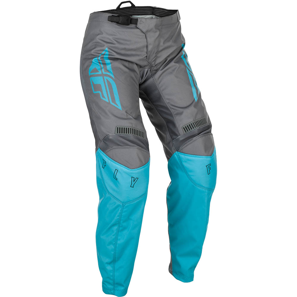 Fly Racing 2021 Women's F-16 Grey/Blue штаны женские