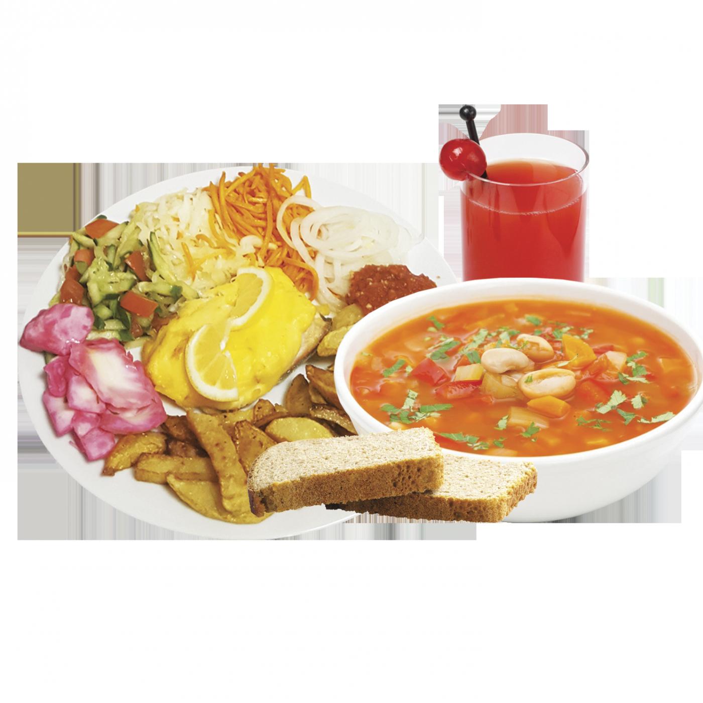 Комплексный обед № 1