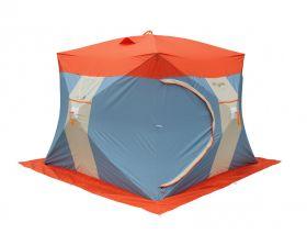 Зимняя палатка Митек Нельма Куб 3 Люкс с внутренним тентом