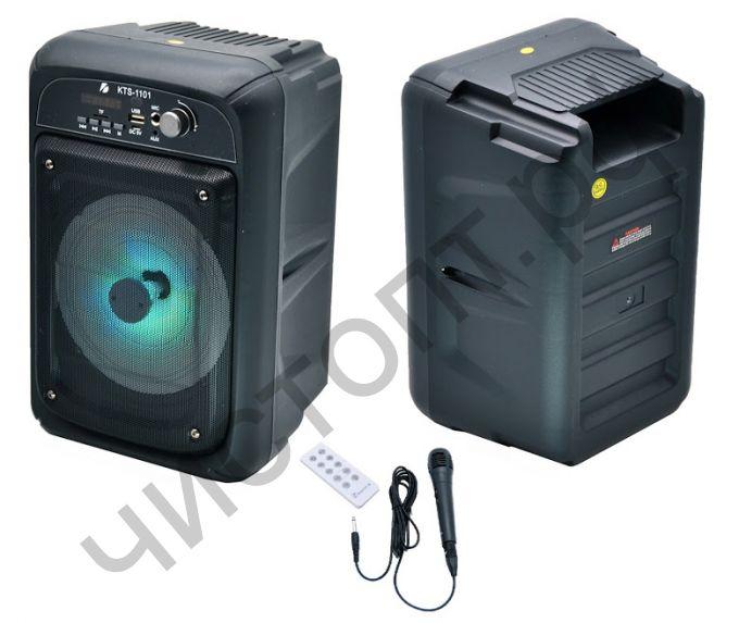 Колонка универс.с радио KTS-1101 20W микрофон в комплекте
