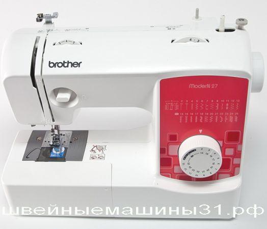 Швейная машина BROTHER MODERN 27    цена 13900 руб.