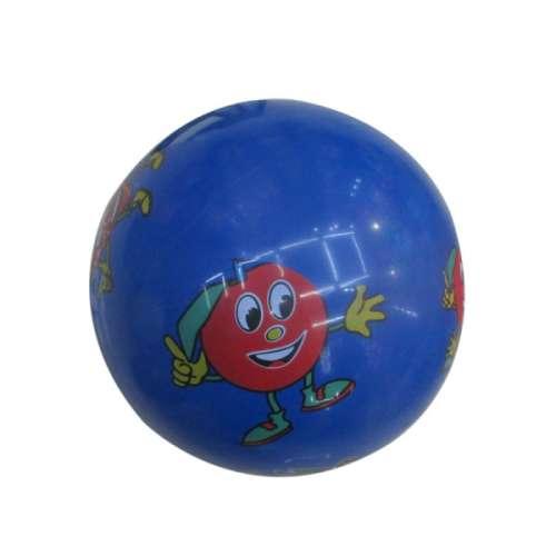 Мяч ПВХ 22 см, 60 гр, фрукты, деколь
