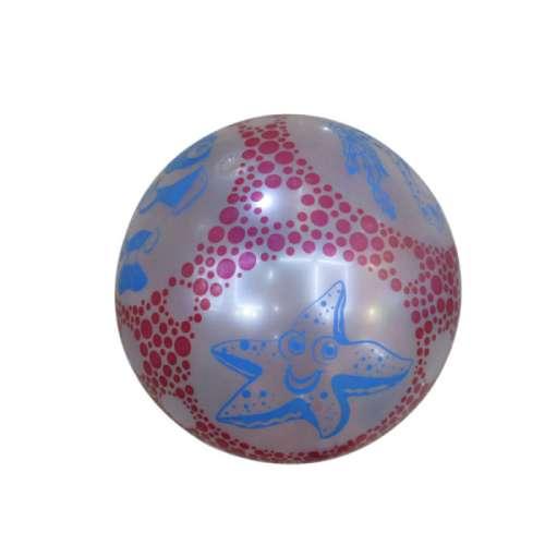 Мяч ПВХ 22 см, 60 гр, морская звезда, принт