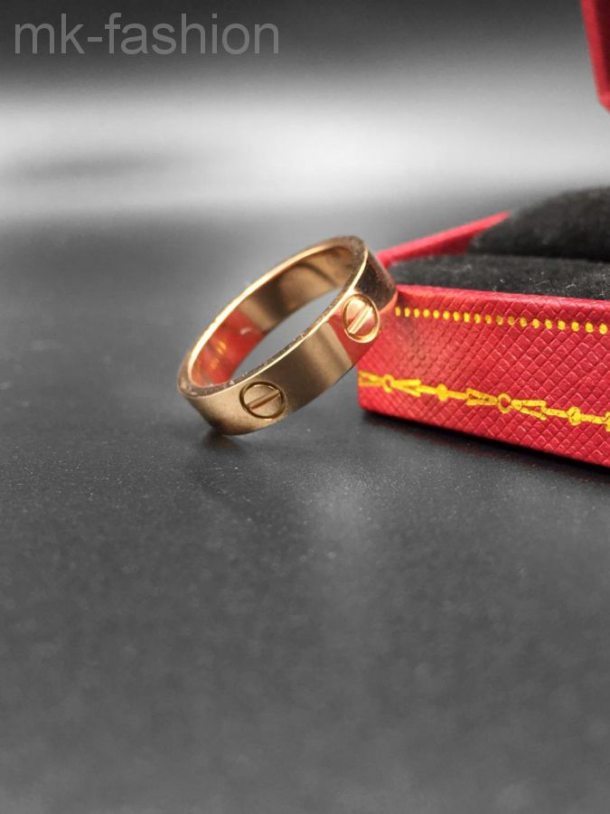 Cartier кольцо Love Pink Gold